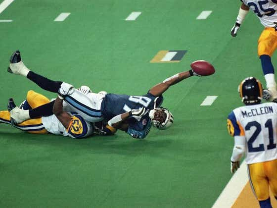 On This Date in Sports January 30, 2000: One Yard