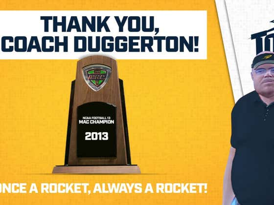 Toledo Athletics Takes Out Full Page Twitter Tweet To Thank Coach Gus Duggerton